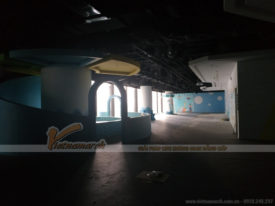 Khảo sát hiện trạng thiết kế văn phòng Golden Net