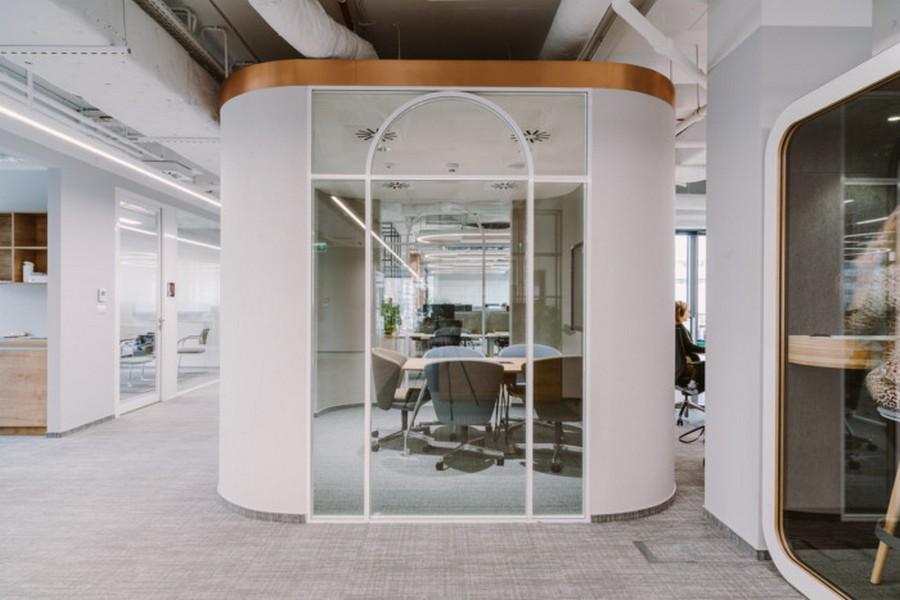 Văn phòng đại diện của công ty mỹ phẩm