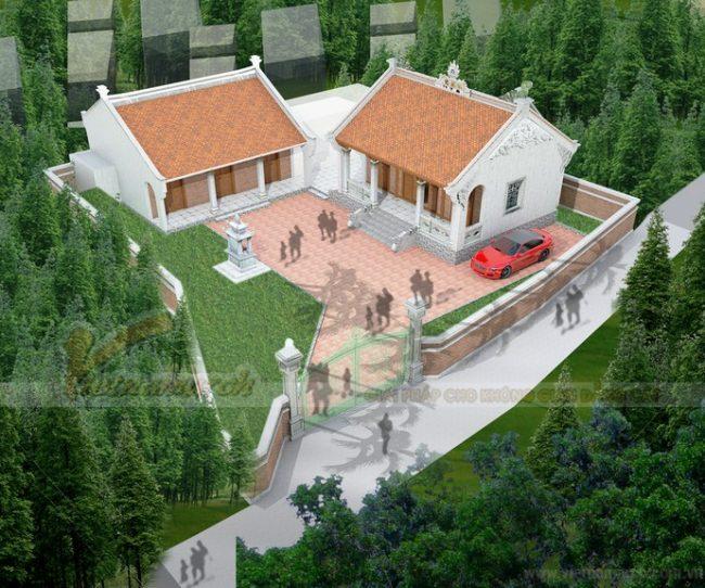 2020 mẫu thiết kế nhà thờ họ, từ đường đẹp nhất