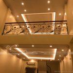Thi công phào chỉ Composite hoạ tiết trần nhà cho nhà chị Chi tại Hà Nội
