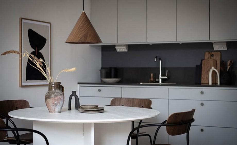 Thiết kế phòng bếp đẹp trong căn hộ nhỏ