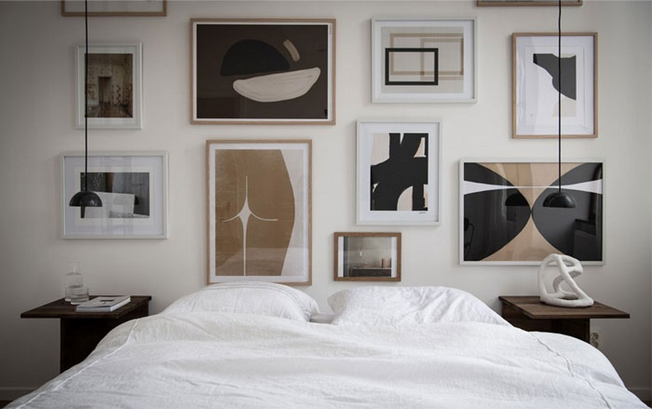 Thiết kế nội thất phòng ngủ căn hộ nhỏ cho hai vợ chồng