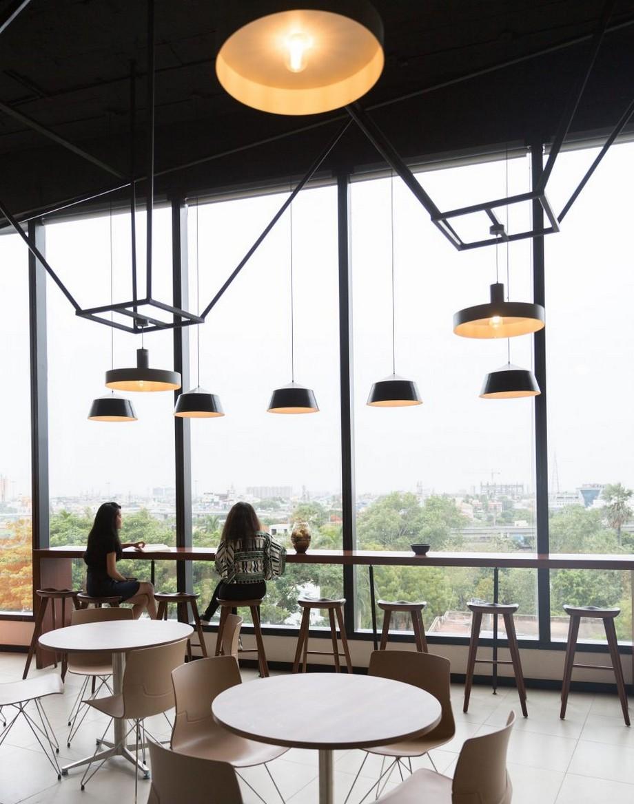 mẫu thiết kế văn phòng chia sẻ (coworking space) nổi bật