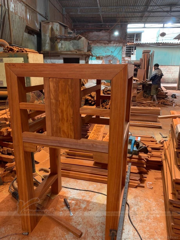 Mẫu bàn thờ được thiết kế độc đáo cho khách tại Hà Nội