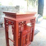 Mẫu bàn thờ đứng thiết kế độc quyền bán chạy nhất tháng 4 năm 2020 tại Nguyễn Xiển bất chấp dịch Covid-19