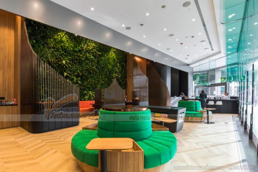 Thiết kế nội thất văn phòng công ty bảo hiểm Manulife chi nhánh Hồ Chí Minh