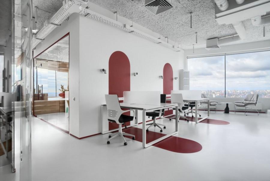 Thiết kế khu vực làm việc thông minh
