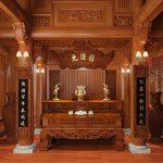 Tổng hợp 100 mẫu phòng thờ truyền thống chuẩn phong thủy