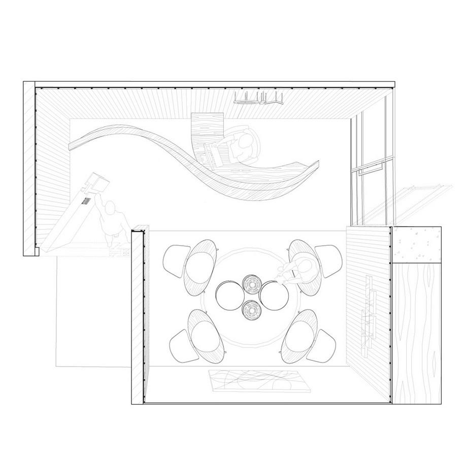 Phương án thiết kế, thi công văn phòng 185m2