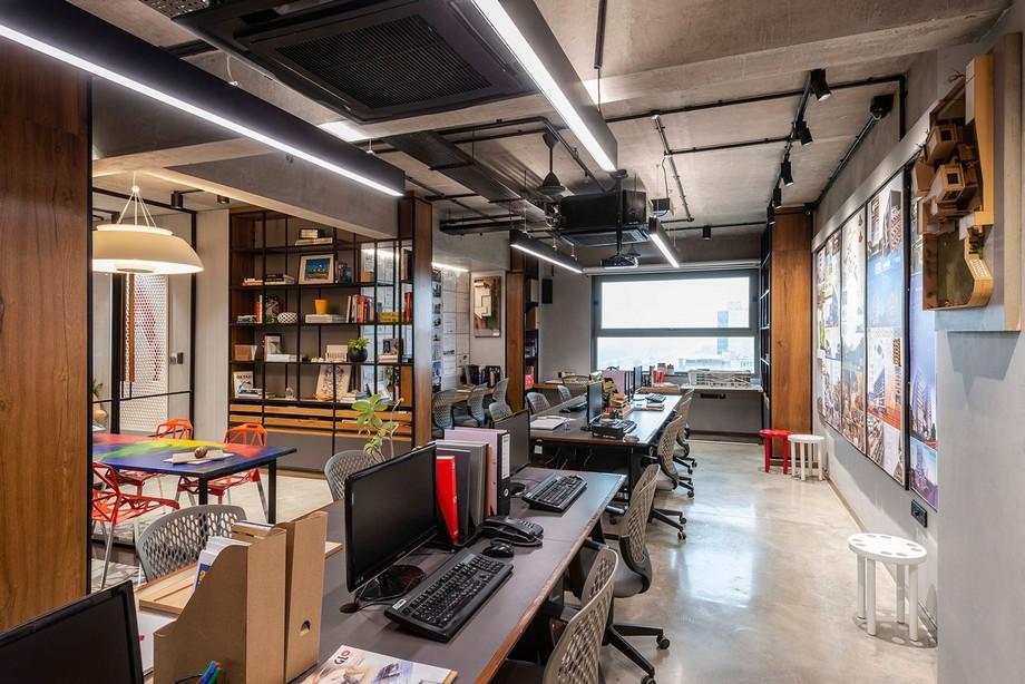 Phương án thiết kế, thi công văn phòng OIA 185m2
