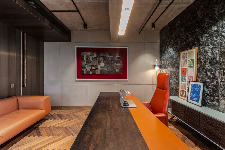 Thiết kế văn phòng OIA đẹp hiện đại