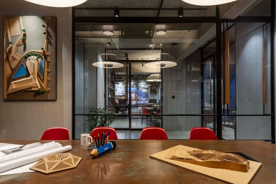 Thiết kế nội thất văn phòng OIA 100m2