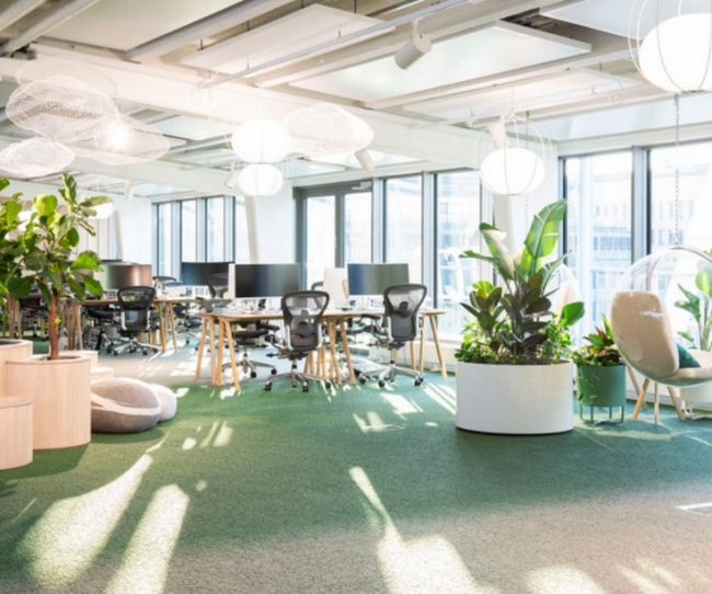 Thiết kế, thi công văn phòng trên tầng thượng cho công ty đo lường tiếp thị supermetrics