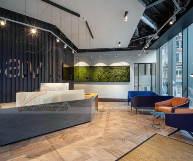 Thiết kế văn phòng công ty bất động sản
