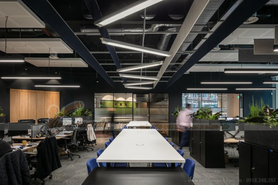 Thiết kế phòng họp công ty BĐS