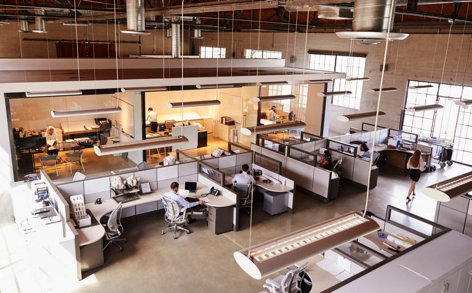 Phong cách thiết kế văn phòng đóng
