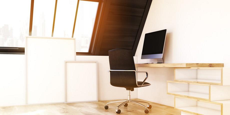 Thiết kế văn phòng với nội thất tối giản vô cùng