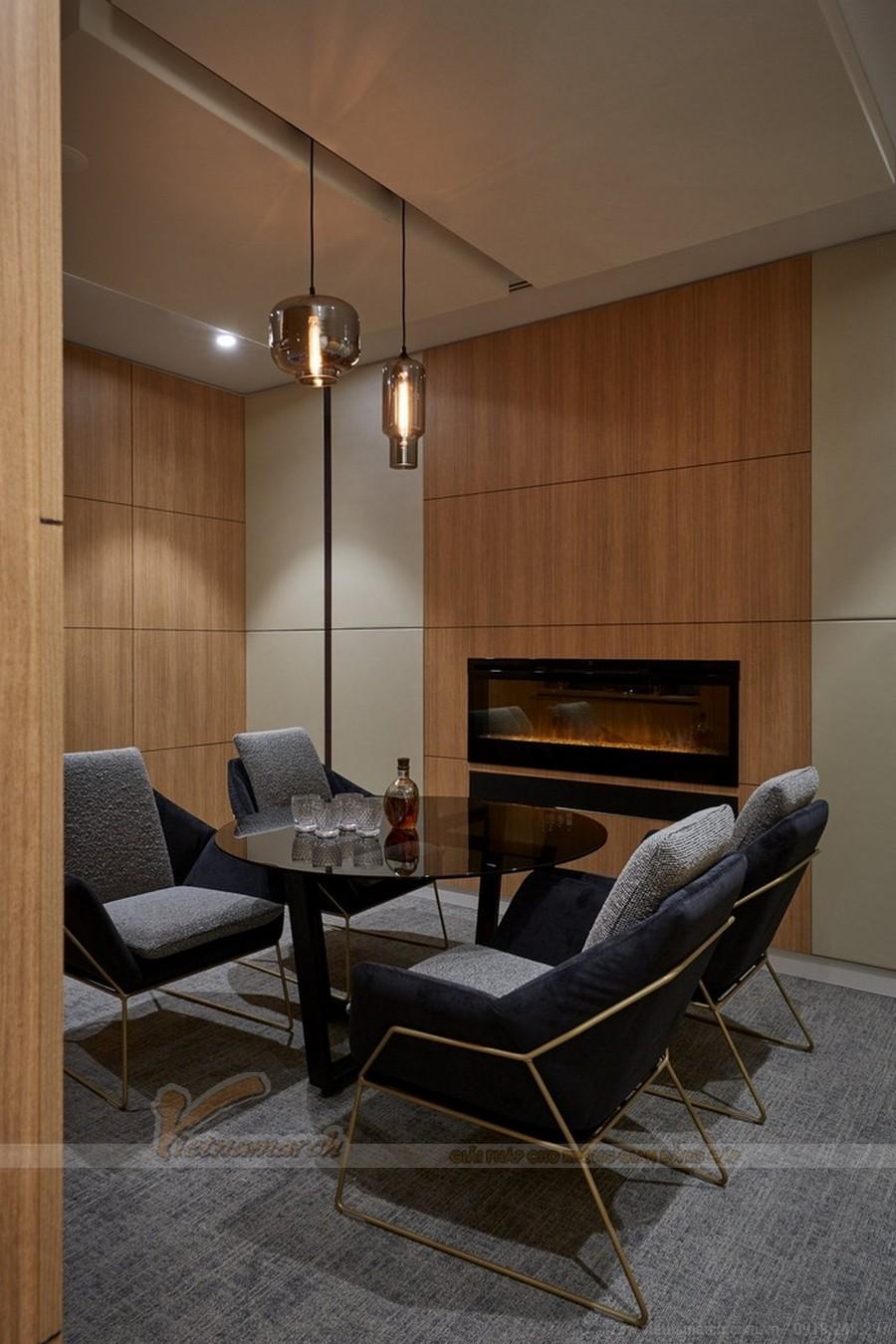 Thiết kế nội thất văn phòng luật sư trang nhã
