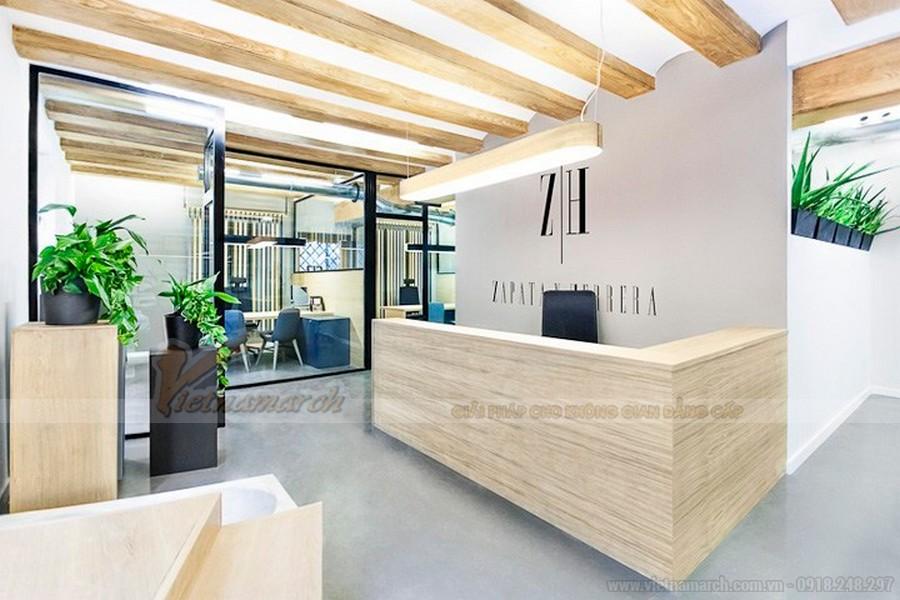 Thiết kế nội thất văn phòng luật sư hiện đại