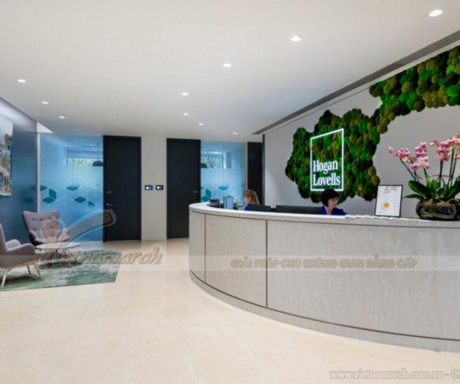 Thiết kế nội thất văn phòng luật