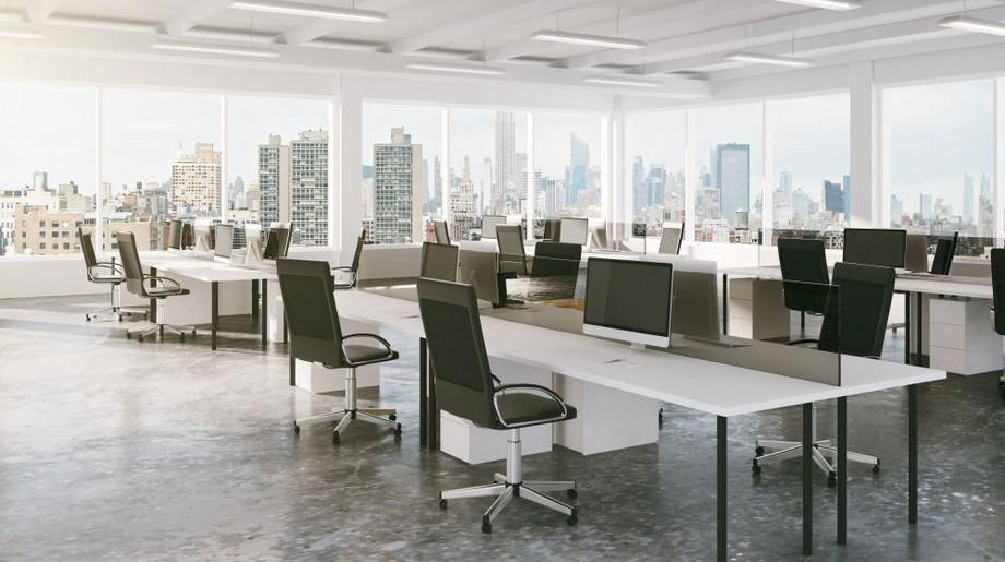 Thiết kế văn phòng đóng và mở