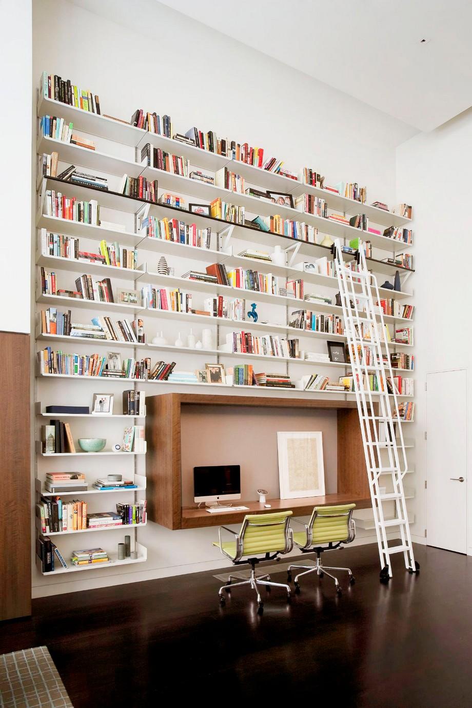 Thiết kế văn phòng làm việc tại nhà đẹp và hiện đại
