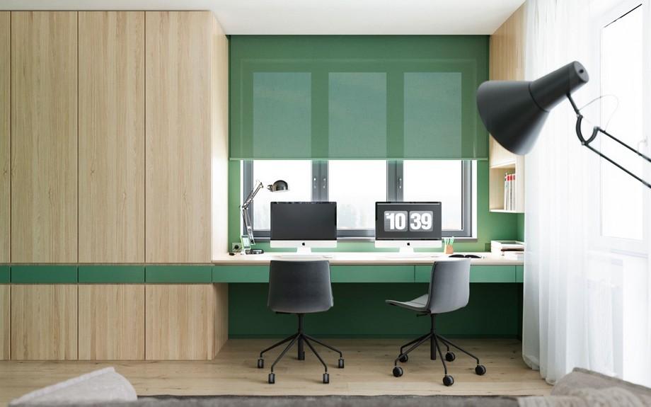 Ghế nên chọn kiểu nào và kích thước bao nhiêu khi thiết kế văn phòng tại nhà?