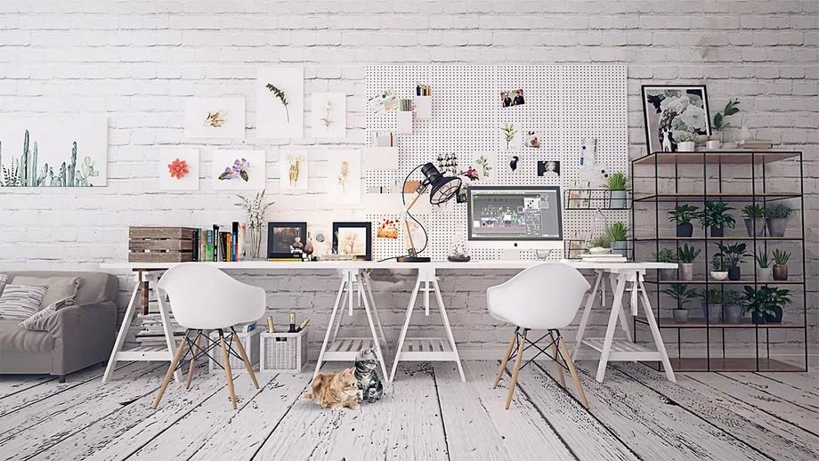 Tiêu chuẩn kích thước bàn làm việc cho văn phòng tại nhà