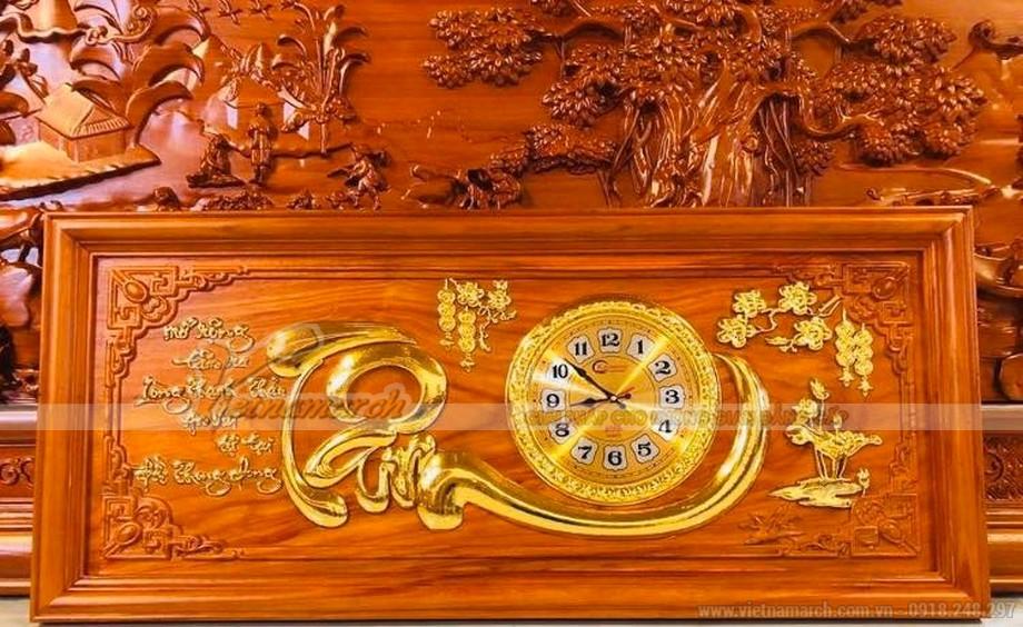 Tranh gỗ treo phòng thờ hợp phong thủy đẹp nhất