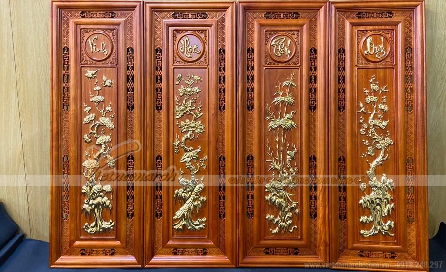 Showroom cửa hàng bán tranh thờ, giấy dừa, trúc chỉ đẹp, hiện đại tại Hà Nội