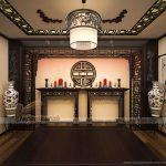30 mẫu tranh gỗ treo phòng thờ hợp phong thủy rước tài lộc vào nhà