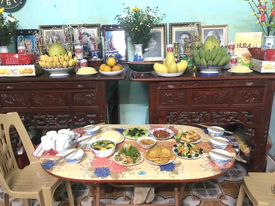 Mâm cơm cúng giỗ tổ Hùng Vương tại nhà đơn giản và ý nghĩa