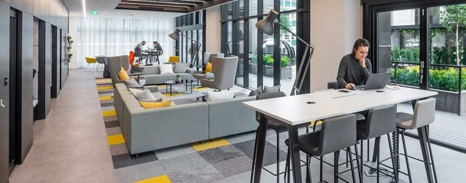 Ý tưởng thiết kế không gian Coworking Space (2020)