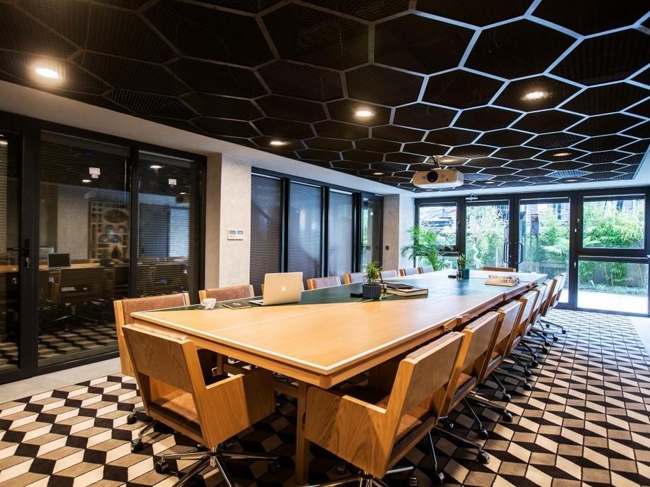Thiết kế văn phòng đẹp theo phong cách công nghiệp