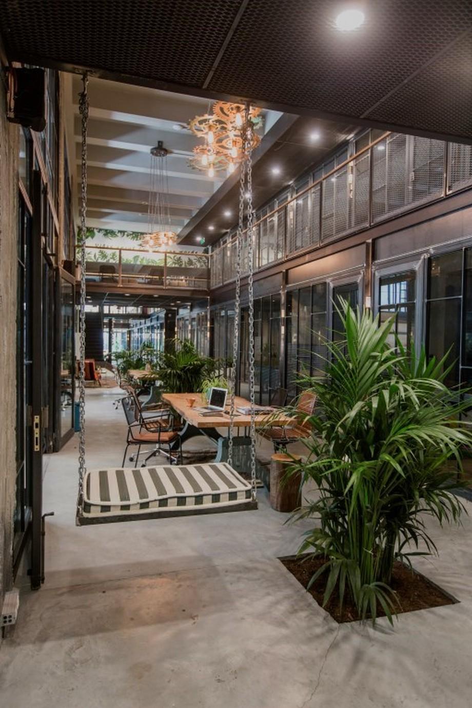 Thiết kế không gian Văn phòng thoải mái như ở nhà