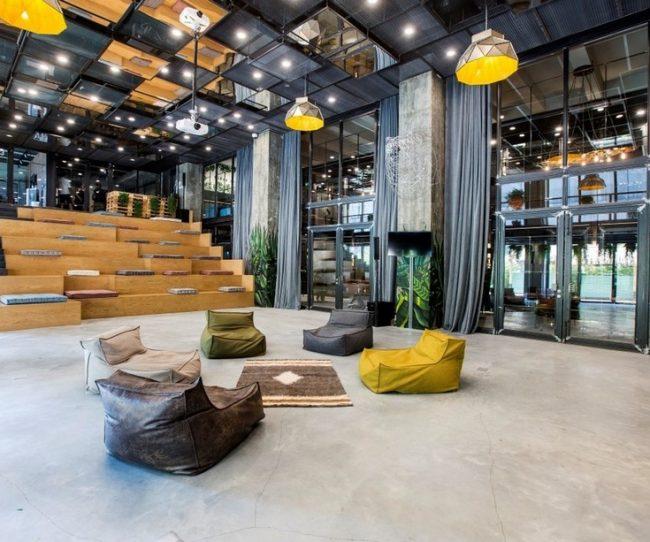 Dự án: Cải tạo nhà máy cũ thành không gian làm việc chung coworking space tuyệt đẹp thiết kế theo phong cách công nghiệp