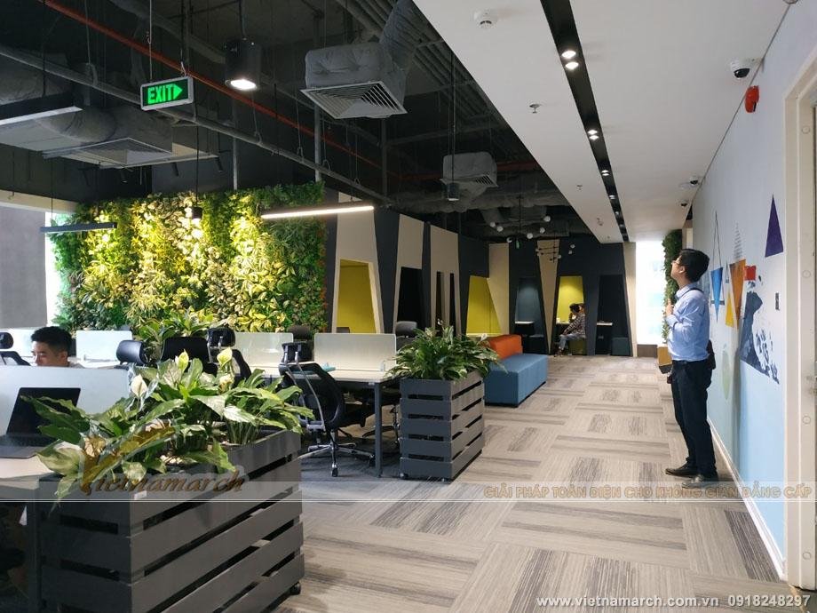 Thiết kế nội thất văn phòng - Đảm bảo tính bảo mật, riêng tư của từng không gian