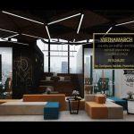 Thiết kế nội thất văn phòng làm việc, coworking space sáng tạo, hiện đại
