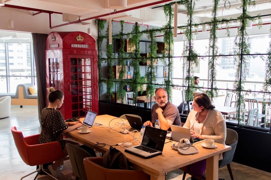 Cách để thiết kế nhà hàng thành văn phòng chia sẻ