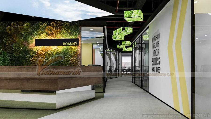 Hướng dẫn cách thiết kế sảnh văn phòng, quầy lễ tân đẹp, sang trọng