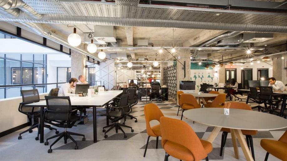 Thiết kế văn phòng chia sẻ đẹp và hiện đại