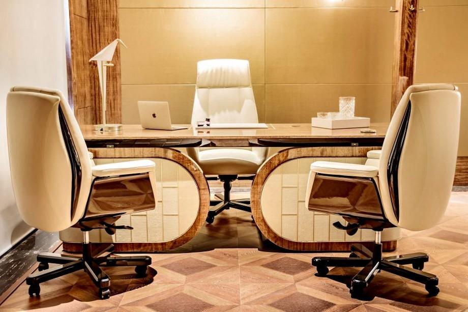 Thiết kế phòng giám đốc cao cấp với hệ thống tự động hóa hiện đại