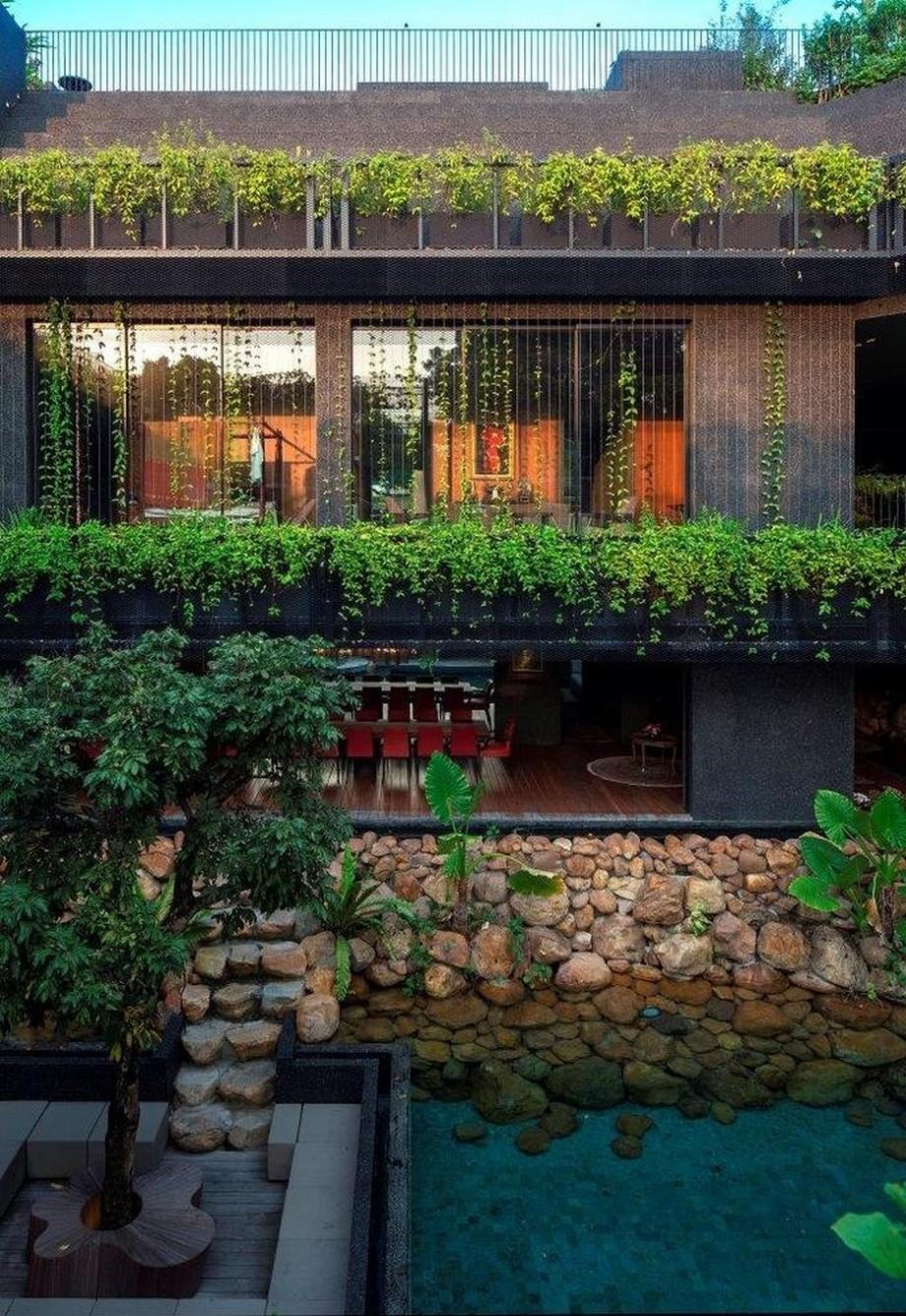 Mẫu thiết kế biệt thự sân vườn đẹp rộng 1500m2