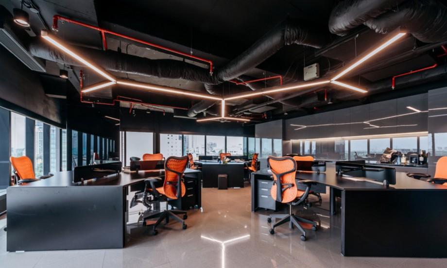 Thiết kế Không gian làm việc chung coworking up yeah1 tại sài gòn