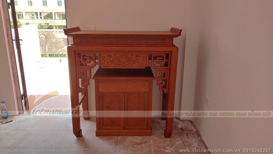 Mẫu bàn thờ đẹp