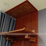 Mua bàn thờ và đặt đóng vách ốp hậu cho phòng thờ nhà cao tầng tại Triều Khúc