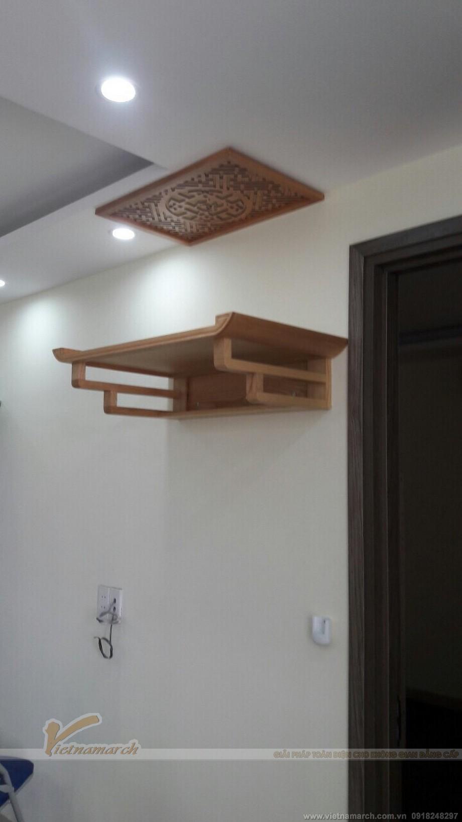 Lắp đặt bàn thờ chung cư tại Võng Thị - Bưởi