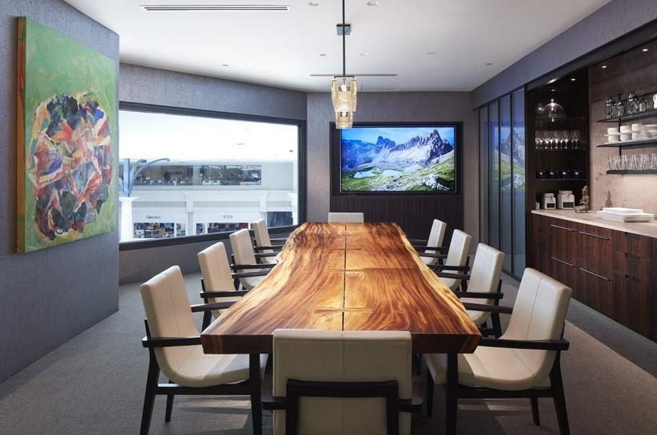 Tinh tế với mẫu thiết phòng họp đơn giản