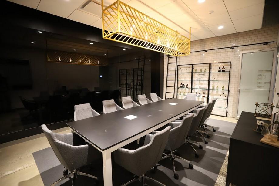 Sáng tạo cùng nội thất phòng họp hiện đại, tiện nghi