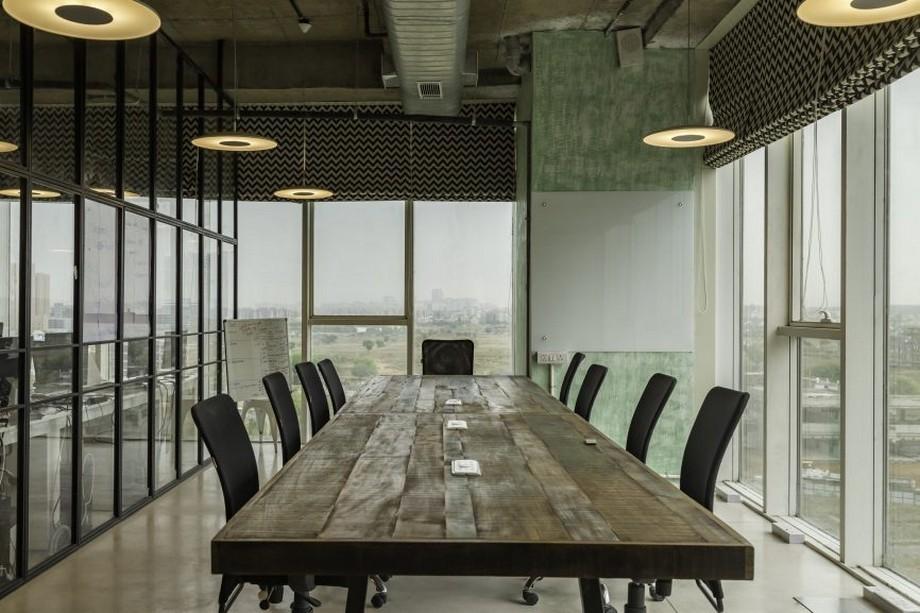 Mẫu thiết kế phòng họp theo phong cách mở